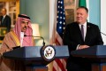 Saudi Minister of Foreign Affairs Prince Faisal bin Farhan al-Saud and US Secretary of State Mike Pompeo. Photo: Reuters