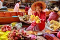 The Damnoen Saduak floating market in western Thailand. Photo: Shutterstock