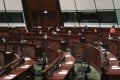 Hong Kong lawmakers return to the Legislative Council on October 14, after the 2016-2020 session was extended for a year over the coronavirus pandemic. Several pan-democratic legislators chose to bow out. Photo: K.Y. Cheng