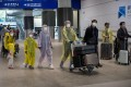 Hong Kong Airport Authority announced on its website that the policy to allow mainlanders to transit through the city would be extended until further notice. Photo: EPA-EFE