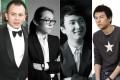 China's Crazy Rich Asians, from left to right: Wang Ke, Pan Rui, Wang Sicong and Wang Shuo. Photos: Baidu, Sohu, Baidu, Sina