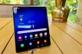 The Samsung Galaxy Z Fold 2: the flaws have been fixed, but are the latest foldable phones worth the extra cost? Photo: Christoph Dernbach/DPA
