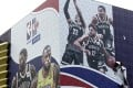 Will NBA posters – and teams – be returning to Chinese cities again soon? Photo: AP