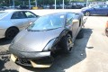The damaged Lamborghini Gallardo Coupe. Photo: SCMP