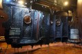 A section of the RMS Titanic that was recovered from the ocean floor is seen on display in July 2009. Photo: RMS Titanic handout via AP