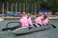 Lantau Boat Club host their first Pink Day for breast cancer. Due to Covid-19 restrictions, paddlers, hikers and runners took part all across Hong Kong simultaneously. Photos: Three Peak Media