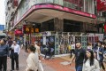 Retail shops sit empty in the shopping heart of Causeway Bay. Photo: Dickson Lee