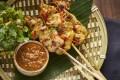 Satay at Monsoon Oriental Cuisine. Photo: handout