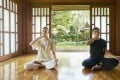 "Guests at a wellness resort practise ""pranayama"" yogic breathing. Photo: Handout"
