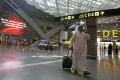 The departures lounge at the Hamad International Airport in Doha. File photo: AFP