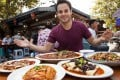 Trevor James, aka The Food Ranger, began making street food videos as an undergraduate in 2013. Photo: Courtesy of Trevor James