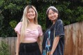 Vietnamese-Australians Tiana Nguyen (left) and Thuy Nguyen, not related, are the pair behind the Unapologetically Asian podcast, in which they embrace their identity as Asian-Australians. Photo: Courtesy of Tiana Nguyen and Thuy Nguyen