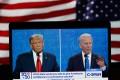 Donald Trump and Joe Biden have differing views on China. Photo: Xinhua