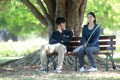Will Or and Sofiee Ng in a still from Apart (category IIB; Cantonese, English, Mandarin), directed by Chan Chit-man. Yoyo Fung co-stars.