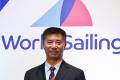 The World Sailing website announces new president Li Quanhai of China. Photo: World Sailing