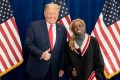 US President Donald Trump with Lil Wayne last week. Lil Wayne became the latest prominent rapper to endorse Trump for re-election, but other hip hop stars like 50 Cent and Ice Cube are not fans. Credit: Twitter/Lil Wayne