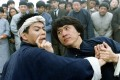 Jackie Chan (right) in a still from the 1994 kung fu action-comedy film, Drunken Master II. Photo: Handout