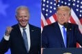 President Donald Trump and Democratic challenger Joe Biden are battling it out for the White House, with polls closed across the United States Tuesday. Photo: AFP