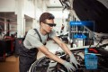 The HiAR G200 augmented reality glasses are used by workers in car manufacturing. Photo: Handout