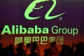 Hangzhou-based Alibaba's shares, which have risen 42.2 per cent since the start of the year, closed up 6.3 per cent to HK$294.60 on Thursday before the firm's latest quarterly results were announced. Photo: Agence France-Presse