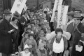 Young Japanese war orphans returning to Tokyo in 1946. Photo: AP