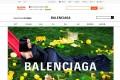 A screen shot of Balenciaga's Tmall virtual store. Photo: Taobao