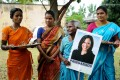 Women gather to celebrate the victory of US vice-president-elect Kamala Harris, in Painganadu, near the village of Thulasendrapuram in the state of Tamil Nadu, where Harris' maternal grandfather was born. Photo: Reuters