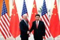 Chinese President Xi Jinping has yet to congratulate US president-elect Joe Biden. The two are pictured in Beijing in 2013. Photo: TNS