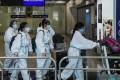 Travellers at Hong Kong International Airport. Photo: Bloomberg