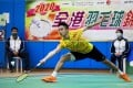 Jason Gunawan has become the youngest-ever Hong Kong badminton champion after he defeated Chan Yin-chak in the men's singles final at Kowloon Park Sports Centre. Photo: K.Y. Cheng