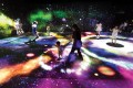 Multi Jumping Universe, one of the interactive digital installations created by teamLab Photo: teamLab
