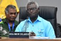 Solomon Islands Prime Minister Manasseh Sogavare's government uses Facebook to broadcast his speeches and to disseminate health information during the Covid-19 pandemic. Photo: EPA-EFE