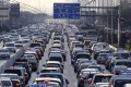 Beijing has strict limits on the number of licence plates it issues. Photo: AFP