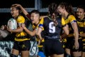 Tigers Ladies beat reigning women's league champions Valley Black Ladies in round two of the Hong Kong Women's Premiership at Kings Park. Photo: Ike Images