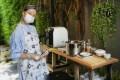 Bangkok resident Tidaporn Potisai runs an online business selling kor moo yang, or Thai grilled pork. Photo: Handout