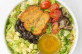 Marko Martinis uses apps to find vegan food near him in Singapore, like this SaladStop! Earth Bowl. Photo: courtesy of SaladStop!