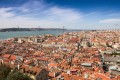 Aerial view of the historical centre of Lisbon from the Castle of Saint George. The golden visa scheme has turned Portugal into a hot market for Chinese investors. Photo: Shutterstock