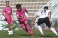 Resources Capital striker Wong Wai-kwok in action against Kwoon Chung Southern in the Sapling Cup. Photo: Jonathan Wong