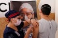 A volunteer in Mexico is given CanSino's vaccine candidate as part of the late-stage trial currently running the country. Photo: Reuters