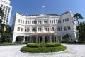 Raffles Hotel in Singapore is one of the places there offering the best deals for Hongkongers taking advantage of the travel bubble. Photo: AFP