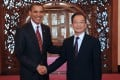 "On a trip to China in 2009, Obama raised issues around ""massive trade imbalances"" and ""China's currency manipulation and other unfair practices"" during a meeting with Wen Jiabao, then China's premier. Photo: Xinhua"