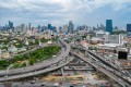Traffic in downtown Bangkok. The sales of residential units are expected to decline by 40 per cent year on year in 2020, according to Colliers Thailand. Photo: Getty Images