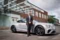 Adrian Hallmark, CEO of Bentley Motors, is excited by the time of huge change his industry is facing. Photo: Bentley Motors