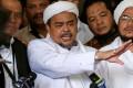 Hardline cleric Habib Rizieq Shihab, leader of the Islamic Defenders Front (FPI). Photo: Reuters