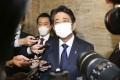 Former Japanese Prime Minister Shinzo Abe. Photo: Kyodo