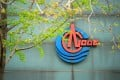 The logo of China National Offshore Oil Corp (CNOOC) is pictured at its headquarters in Beijing in April 2018. Photo: Reuters