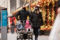 Everyone is gearing up for a Covid-19 Christmas, and coming up with ways to adapt to the restrictions. Photo: Noam Galai/Getty Images