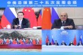 Chinese Premier Li Keqiang and Russian Prime Minister Mikhail Mishustin announced the cooperation after meeting by video link. Photo: Xinhua
