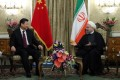 Chinese President Xi Jinping meets Iranian President Hassan Rowhani in Tehran on January 23, 2016. Photo: AFP /Iranian Presidency