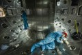 """Staff from China National Nuclear Corporation Southwestern Institute of Physics work in the vacuum chamber of the HL-2M Tokamak, China's new-generation """"artificial sun"""" in Chengdu, Sichuan province, on May 27, 2019. Nuclear technology is one of the areas covered by China's new export control law. Photo: CNNC Southwestern Institute of Physics/Xinhua"""